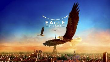 обоя eagle flight, видео игры, адвенчура, eagle, flight, симулятор, птицы