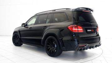 обоя brabus 850 xl widestar based on widebody mercedes-benz gls-63 4matic 2017, автомобили, brabus, 850, mercedes-benz, widebody, 2017, 4matic, based, widestar, gls-63, xl