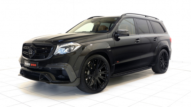 Обои картинки фото brabus 850 xl widestar based on widebody mercedes-benz gls-63 4matic 2017, автомобили, brabus, 2017, 4matic, widebody, based, widestar, xl, 850, gls-63, mercedes-benz