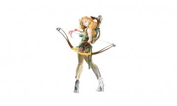 Картинка рисованное комиксы фон девушка лук взгляд