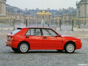 Картинка lancia delta integrale 1991 автомобили