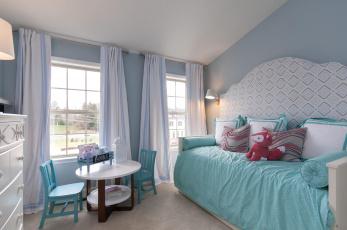 обоя интерьер, детская комната, комната, детская, игрушки, столик, кровать, дизайн