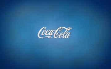 обоя бренды, coca-cola, фон, надпись