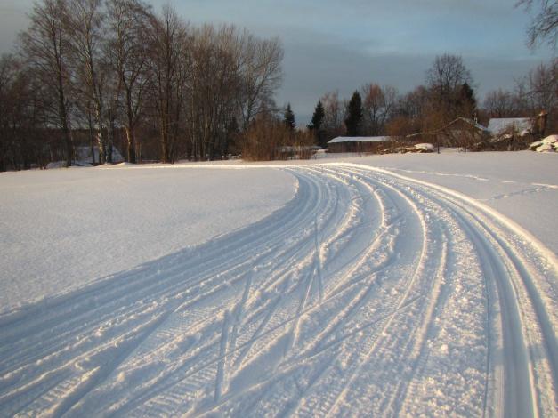Обои картинки фото природа, дороги, деревья, снег