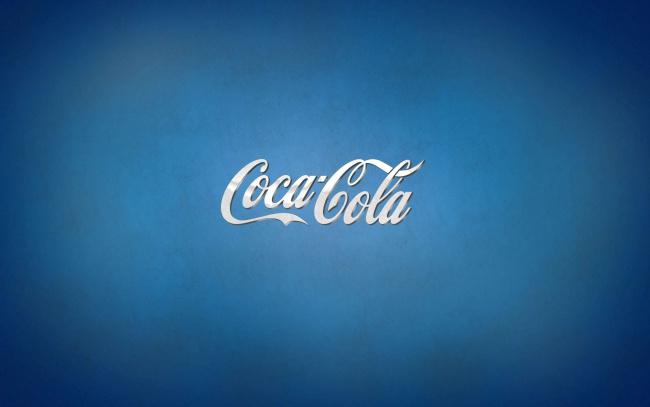 Обои картинки фото бренды, coca-cola, фон, надпись