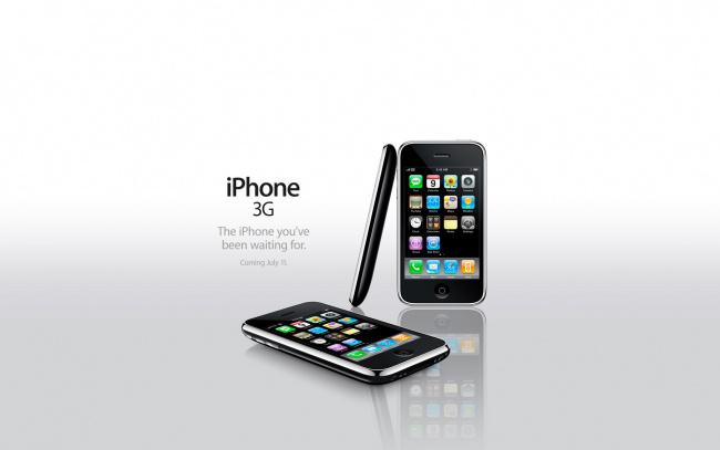 Обои картинки фото бренды, iphone, смартфоны, фон