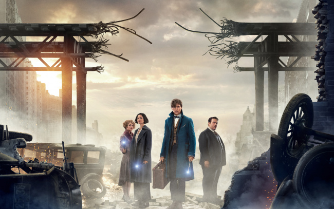 Обои картинки фото кино фильмы, fantastic beasts and where to find them, supergirl