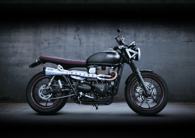 Обои картинки фото мотоциклы, triumph, moto