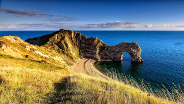 обоя durdle door, dorset,  england, природа, побережье, england, durdle, door