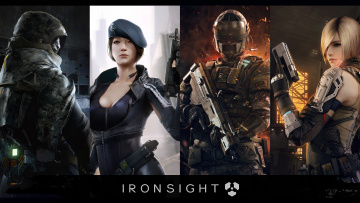 обоя ironsight, видео игры, онлайн, шутер