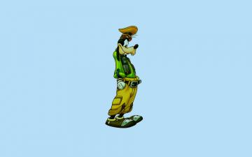 Картинка мультфильмы disney гуфи