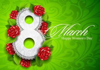 обоя праздничные, международный женский день - 8 марта, женский, международный, праздник, happy, womens, day, 8, march, марта