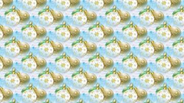 обоя праздничные, векторная графика , новый год, шарики, новый, год, праздник, текстура, фон, шары, арт