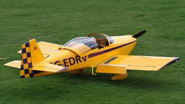Картинка van`s+rv-6a авиация лёгкие+и+одномоторные+самолёты поле самолёт