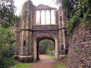 Картинка разное развалины +руины +металлолом каменные ворота