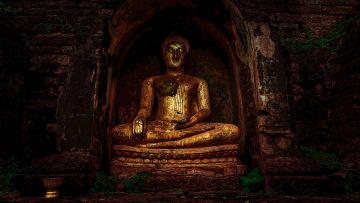 обоя разное, религия, будда, храм, статуя, мантра, молитва, буддизм