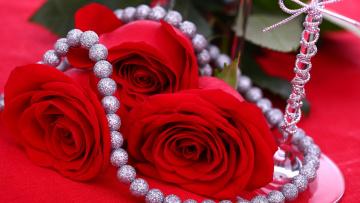 обоя разное, украшения,  аксессуары,  веера, розы, бусы