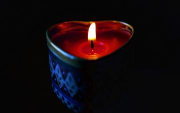 обоя разное, свечи, огонек