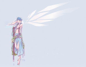 Картинка аниме vocaloid kaito