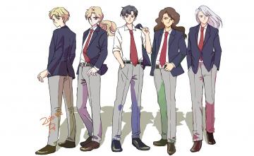 Картинка аниме sailor+moon парни