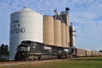 Картинка техника поезда локомотив состав цистерны