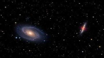 Картинка космос галактики туманности