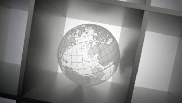 Картинка рисованные -+другое фон глобус шар