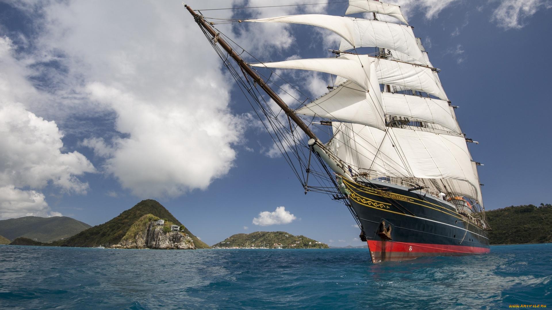 пираты и корабли обои на рабочий стол