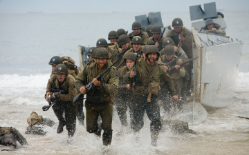 Картинка люди икс начало росомаха кино фильмы men origins wolverine солдаты орут война берег x-men
