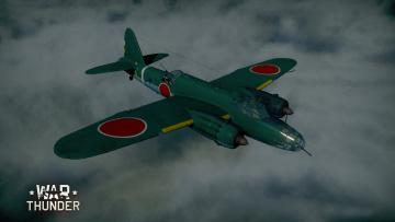Картинка видео+игры war+thunder +world+of+planes полет самолет