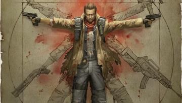 Картинка neverdead видео игры bryce boltzmann оружие