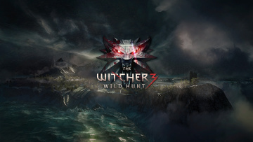 Картинка the witcher wild hunt видео игры горы