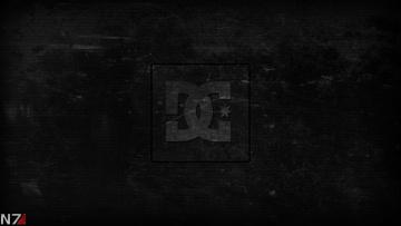 Картинка разное надписи +логотипы +знаки логотип буквы черный фон