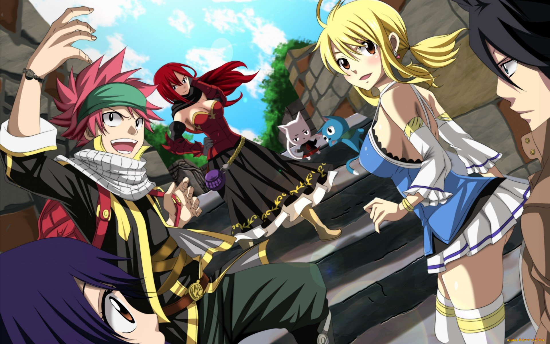 Images of Anime Wallpaper Fairy Tail - #rock-cafe