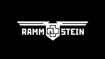 Картинка музыка rammstein надпись черный фон группа рамштайн