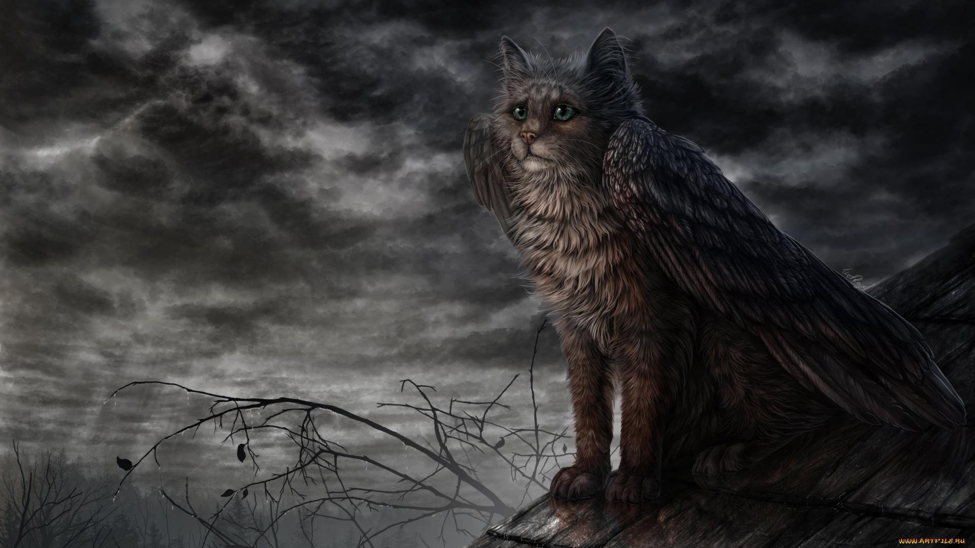 свидетельство мифические существа коты этого