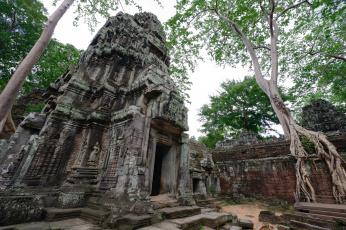 Картинка города -+исторические +архитектурные+памятники пейзаж камбоджа храм табу