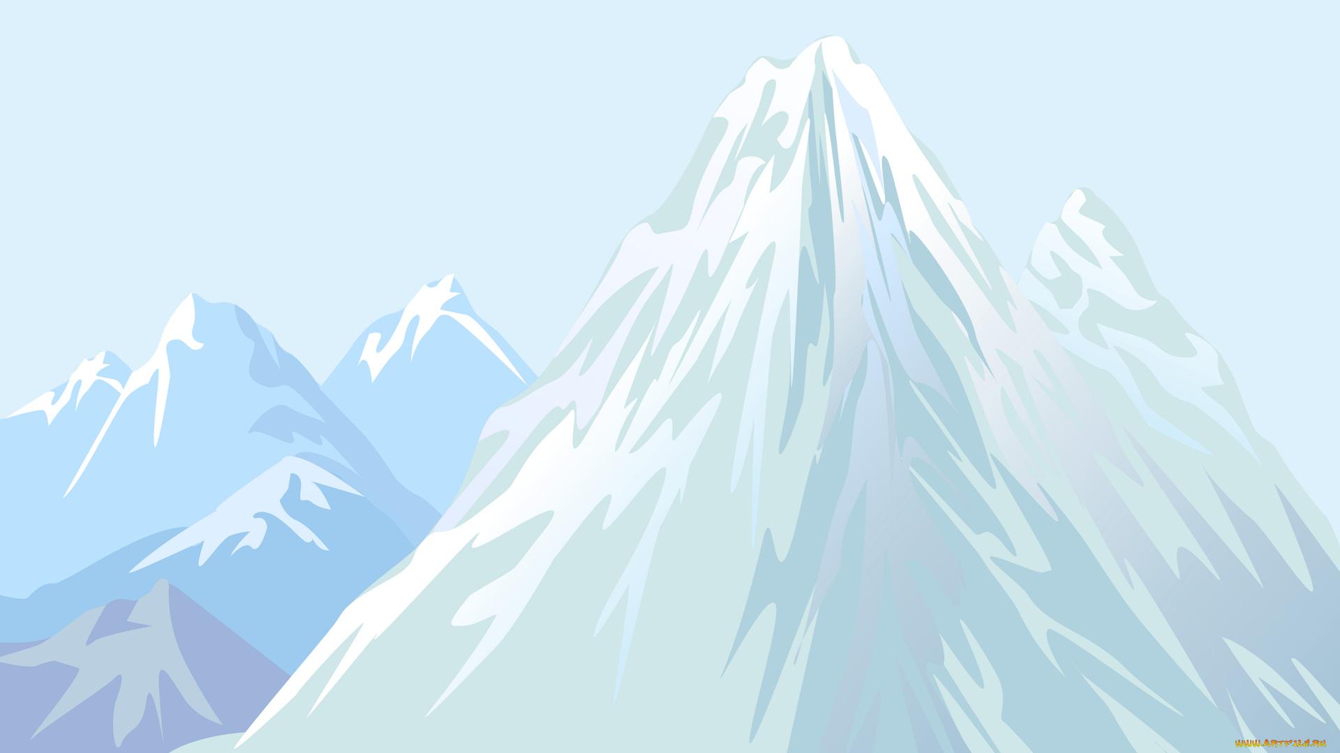 Картинка горы для детей на прозрачном фоне