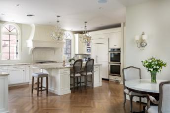 обоя интерьер, кухня, стулья, мебель, люстра, дизайн, бра, стол