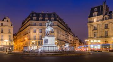 обоя paris, города, париж , франция, пирамида, дворец