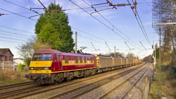 Картинка техника электровозы состав локомотив