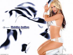 обоя музыка, christina, aguilera