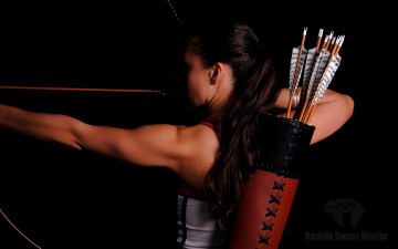 Картинка спорт -+другое shooting bow and arrow pose archery woman