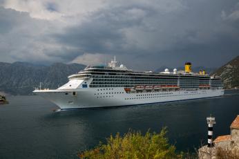 обоя costa mediterranea, корабли, лайнеры, лайнер, круиз