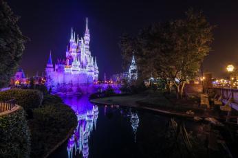 обоя magic kingdom, города, диснейленд, королевство, магия, волшебство