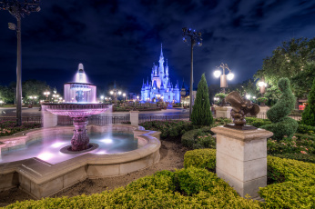 обоя magic kingdom, города, диснейленд, магия, королевство, волшебство