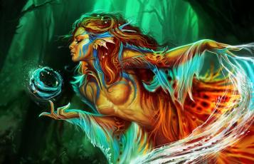 обоя фэнтези, существа, арт, магия, fantasy