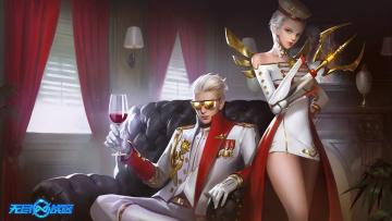обоя фэнтези, люди, li-qian, fantasy, games, арт