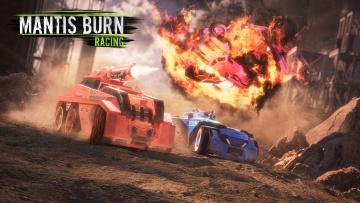 обоя mantis burn racing, видео игры, mantis, burn, racing, аркада, гонки, симулятор