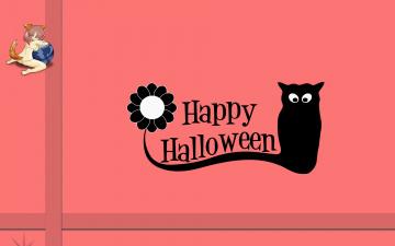 Картинка компьютеры mozilla+firefox фон логотип тыква halloween